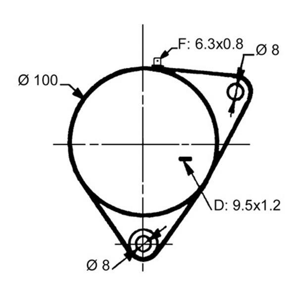 A 9727 Dynamo Lucas Mf 35 65 122 130 135 12 V 11 A