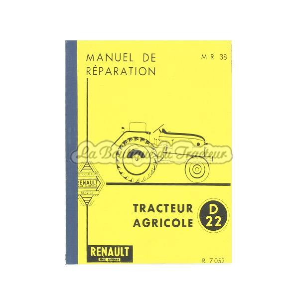 manuel de reparation en francais renault