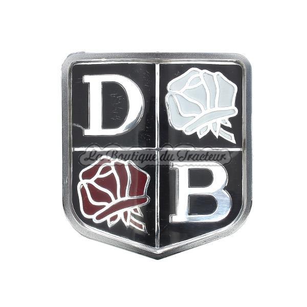 Db Roses Front Badge Implematic La Boutique Du Tracteur