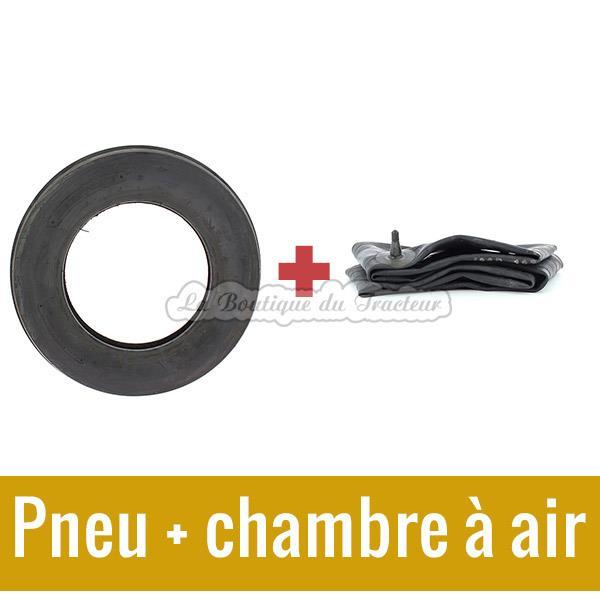 Kit pneu et chambre air x 15 pour tracteur - Pneu et chambre a air pour brouette ...