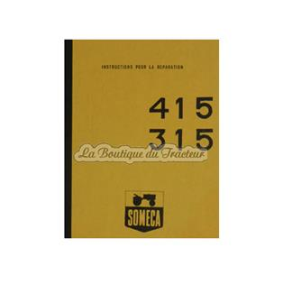 SOMECA 415-315 repair manual